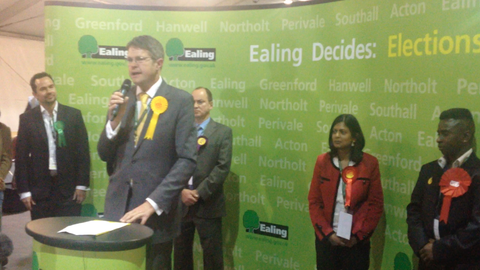 Liberal Democrat candidate Jon Ball. Image by Robbie MacInnes