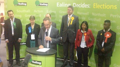 Acting Returning Officer Martin Smith. Image by Robbie MacInnes
