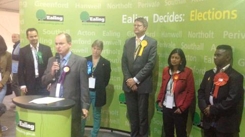 UKIP's Peter Florence. Image by Robbie MacInnes