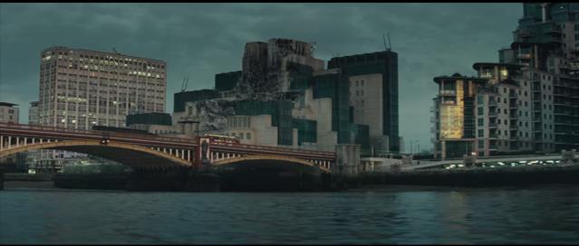 MI6 building in Spectre teaser trailer