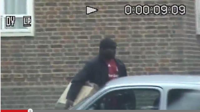 Belangeni Musumbu was caught on camera