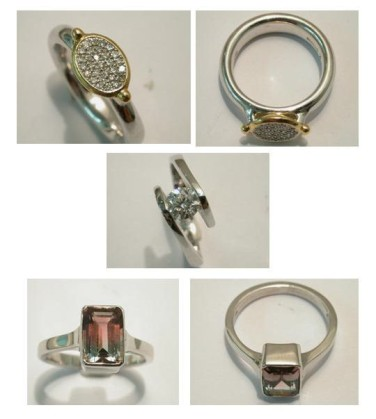 Stolen Rings from Eltham. Image: Met Police