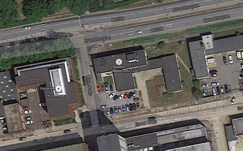 Basildon Magistrates Court. Image: Google Satellite.