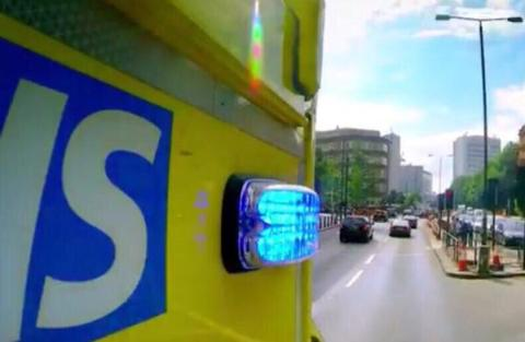 An advanced paramedic, duty officer & 4 ambulance crews dealt with a serious RTC on Burnt Ash Lane, Bromley. Image: LAS_TacAdvisor