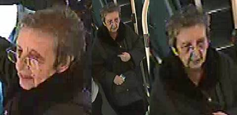 Met Police detectives would like to speak to the woman featured in these CCTV images. Image: Met Police.