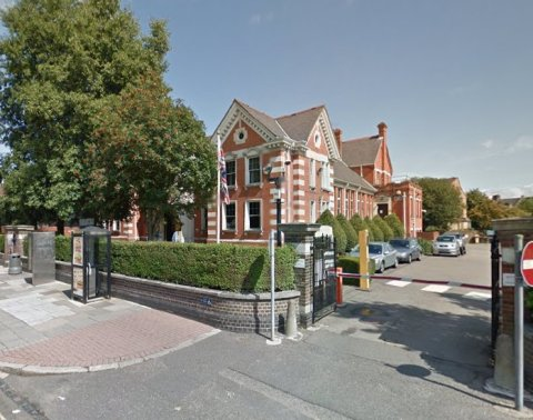 Ealing Magistrates Court. Image: Google Street View