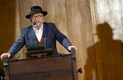 George Galloway enters race to succeed Boris Johnson as Mayor for London. Image: @georgegalloway