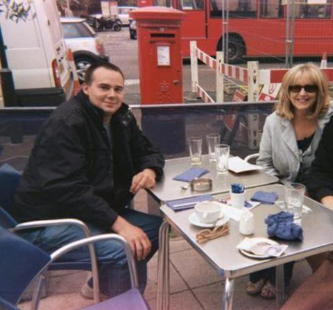 Heiss (left) with Margaret Sheehy his mother (right) whom he murdered in 2012. Image: Met Police