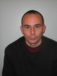 Sean Heiss- Met Police custody photograph after his extradition from Spain.