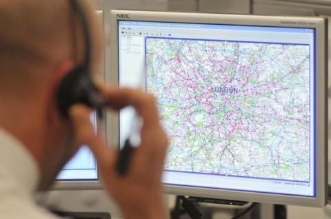 Met Police Control. Image: Met Police