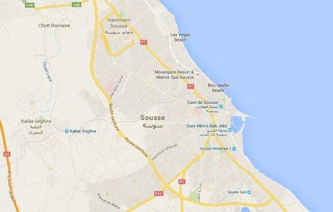 Sousse, Tunisa. Image: Google Maps.