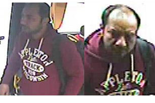 Detectives in Westminster wish to speak to this man in relation to a complaint of assault on a bus in Park Lane, Westminster. Image: Met Police