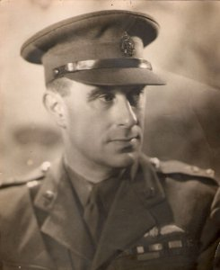 Alexander Wilson during the Second World War. Image: Alexander Wilson Estate.