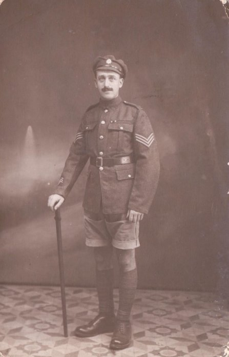 Sergeant Ernest Taylor, with thanks to Richard Shannon