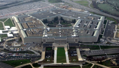 """The Pentagon January 2008"" by David B. Gleason from Chicago, IL - The Pentagon. Licensed under CC BY-SA 2.0 via Commons -"