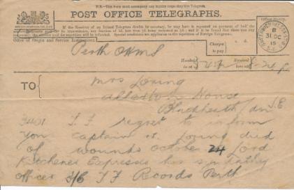 Telegrams on the death of William Loring. Thanks to David Loring, https://williamloring.wordpress.com