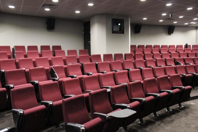 The cinema can seat 101. Image: Sebastian Kettley.