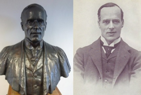 Loring bust and portrait
