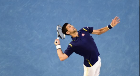 Djokovic wins quarter-final to face Federer in Australian Open semi-final. Image: @AustralianOpen