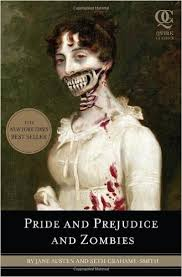 The cover of Pride and Prejudice and Zombies