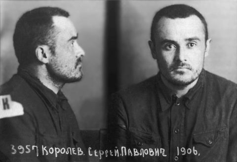 Sergei Korolev - pictured in February 1940, after 18 months' imprisonment