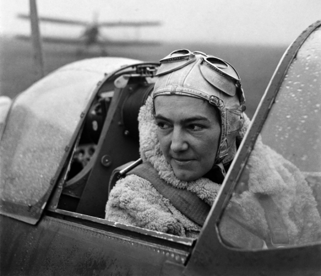 Flight Lieutenant Anna Laska © Lee Miller Archives (Image: Lee Miller)