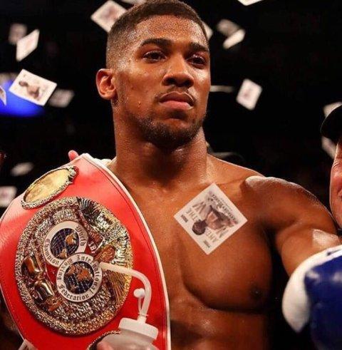 Anthony Joshua- new world heavyweight champion. Image: @anthonyfjoshua