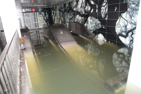 The report was funded after Hurricane Sandy swamped the metro in New York City in 2012. Image: MTASNY on Flickr. Creative commons licence.