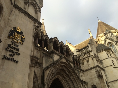 The decision was announced at the Royal Courts of Justice. Image: Al Riddell.