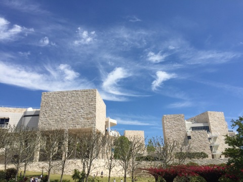 Getty Museum, LA. Picture: radlemadle