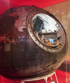 Vostok-6 descent module. Image: Science Museum