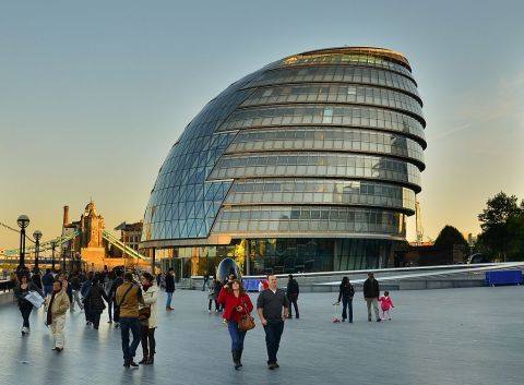 London City Hall, England.
