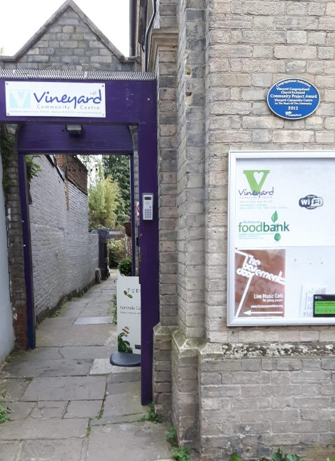 Vineyard Community Centre and Foodbank. Image: Tom Hill