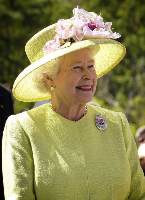 The Queen, 2007 Image: NASA/Bill Ingalls