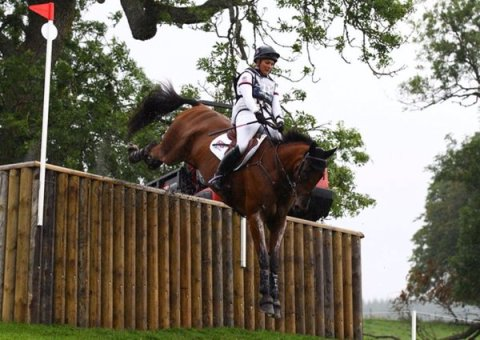 Gemma Tattersall riding Arctic Soul (Image: @GTeventing)
