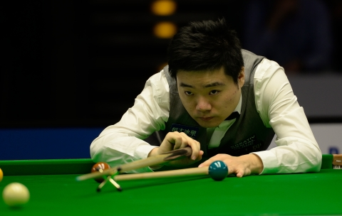 Ding Junhui won three frames in a row to put pressure on Selby, but the 'Jester from Leicester' was unshakable. Image: Wikimedia creative commons licence.