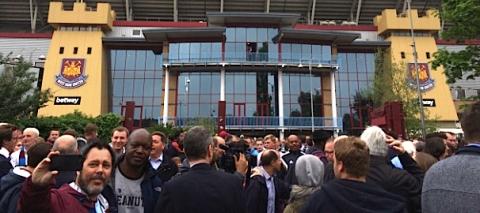 Boleyn Ground. Image: Al Riddell
