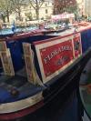 The narrow boat Flora Dora credits: Astrid Hald