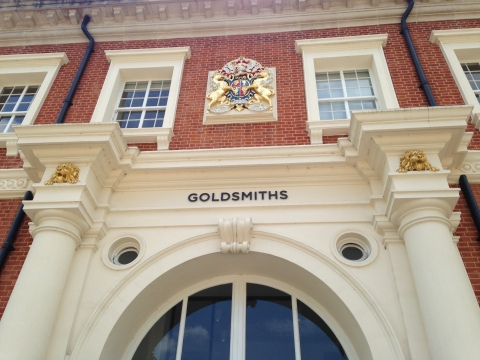 Goldsmiths College, at centre of rent strike. Image: Mariana Des Forges