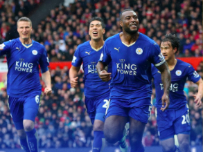 Leicester City are Champions of the Premier League. Image: @LCFC