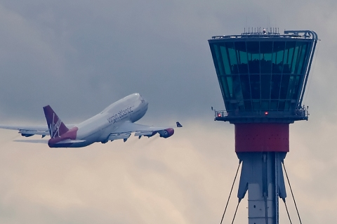 Heathrow's control tower. Image: Maarten Visser