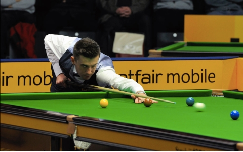 Mark Selby in 2013. Image: DerHexer, Wikimedia Commons.