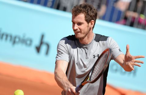Andy Murray will hold onto his world number two ranking of he can win the tournament. Image: Wikimedia creative commons
