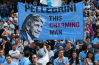 Pellegrini remains a popular figure at the Etihad, despite a disappointing season. Image: @MCFC Click through for Man City's Twitter account.