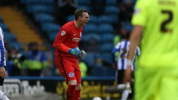 Stockdale shows passion for BHAFC. Image: @BHAFC