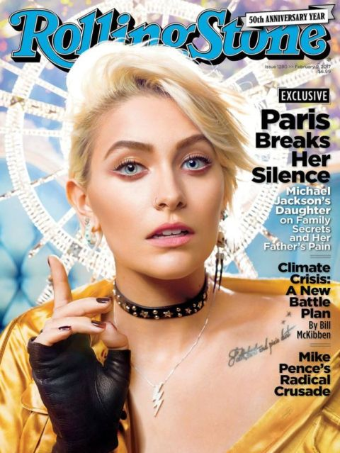 Paris was photographed by David LaChapelle for her first ever Rolling Stone cover. Credit: Rolling Stone.