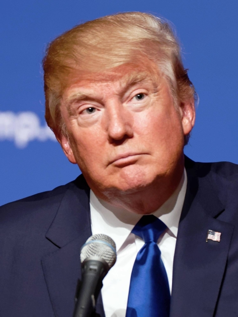 Donald Trump in 2015 by By Michael Vadon CC BY-SA 2.0