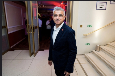 Mayor for London Sadiq Khan. Image: C BY-ND 4.0