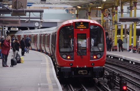 The Central, Waterloo and City lines have been affected by a 24-hour strike. Source: mattbuck, Wikimedia Commons