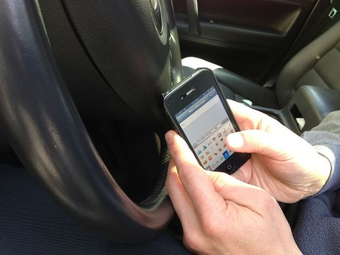Texting whilst driving now has more severe penalties
